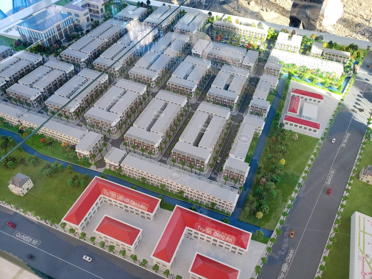 Mô Hình Dự Án Tân Lân Residence